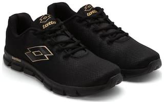 Lotto Men's Vertigo Black Running Shoes