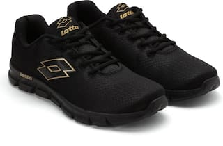 Lotto Men Black Running Shoes