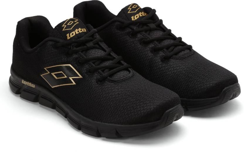 Lotto Men's Vertigo Black Running Shoes