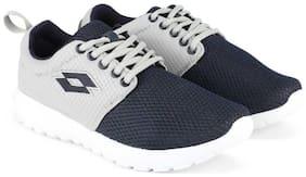 Lotto Men CARMELA Running Shoes ( Grey & Blue )