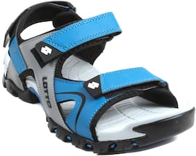 Lotto Men Blue & Black Sandals
