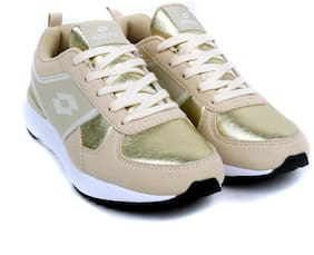 Lotto Women PLAYSTREET Running Shoes ( Gold )