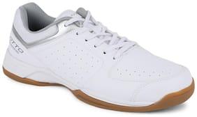 Lotto Men COURT PLUS Walking Shoes ( White )