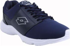 Lotto Men Santino Ii Blue Running Shoes