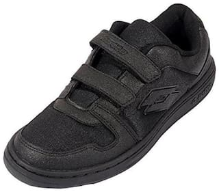Lotto Walking Shoes For Unisex ( Black )