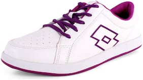 Lotto Women White Casual Shoes