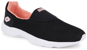 Lotto Women RUNLITE SLIP ON II Walking Shoes ( Black )