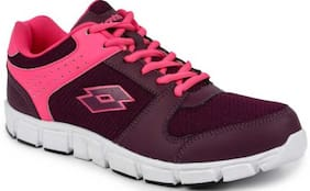 Lotto Women's Sancia Pink Running Shoes