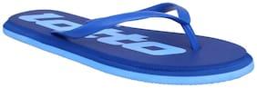 Lotto Women Blue Flip Flops -