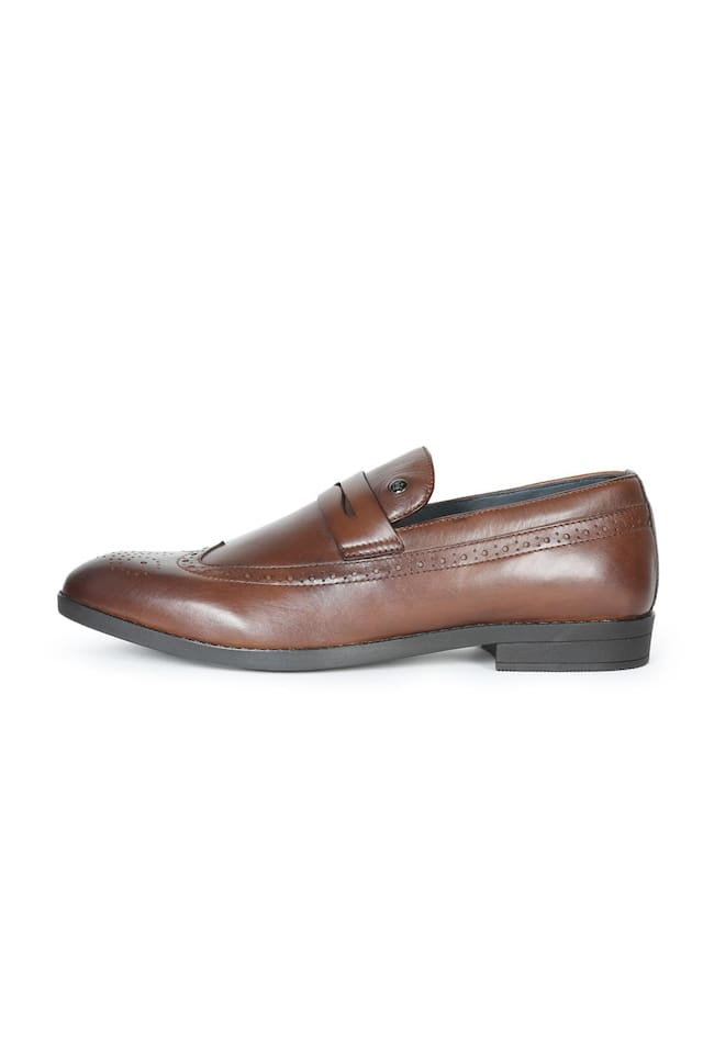 Louis Philippe Men Brown Formal Shoes - Lpbcs18632