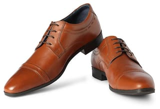 5ee0f7d22cf6 Buy Louis Philippe Men Brown Formal Shoes Online at Low Prices in ...