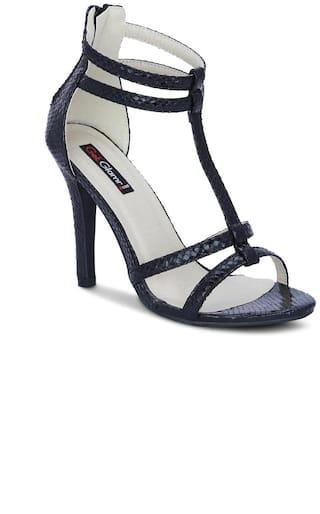 Get Glamr Black Heels