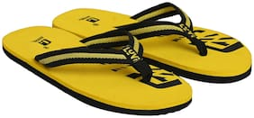 LYVI Men Yellow Outdoor slippers