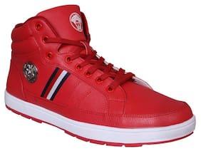 M & M Men Red Sneakers