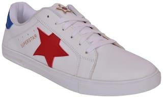 M & M Men White Sneakers