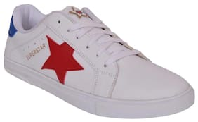 M & M Men White Sneakers