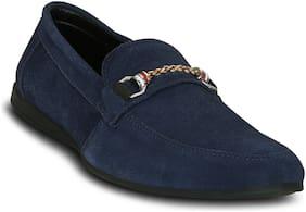 Get Glamr Men Navy Blue Loafer - Loafers