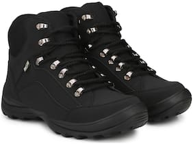 Manslam Men Black Ankle Boots - MLM26-BLACK