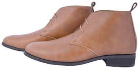 MARKENIACS Men Tan Chukka Boots - CHUKKA BOOTS - ELTCHBTTAN