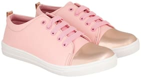 Maysun Women Pink Sneakers