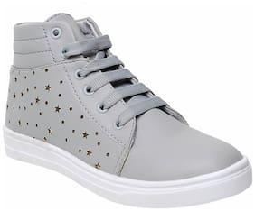 Maysun Women Grey Sneakers