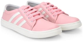 Maysun Women Pink Casual Shoes