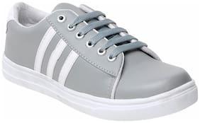 Maysun Women Grey Casual Shoes