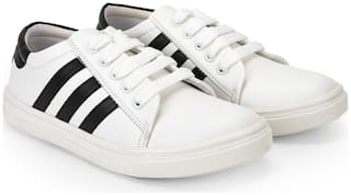 Maysun Women White Casual Shoes