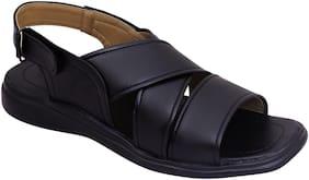 Men Black Casual Sandals SN119-A18BK