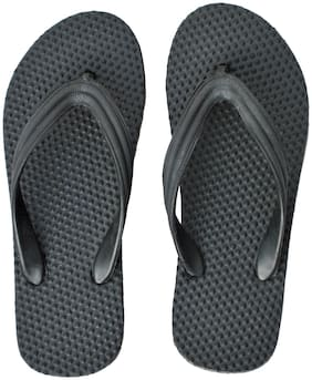 Polita Men Black Health Flipflops