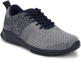 Men Blue Shaded Sport Shoe
