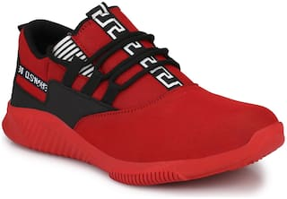 Men Red Swag Casual Shoes