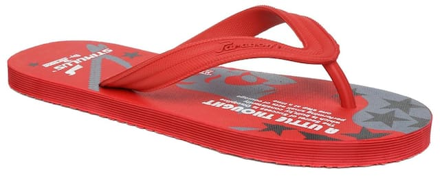 Paragon Men Red Flipflop