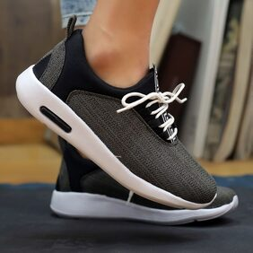 Men Swagger Black Shoe