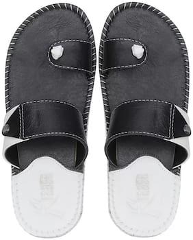 Men Flip-Flops ( Black;White )