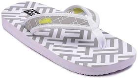Mens light weight slipper TLT-009-2 white colour