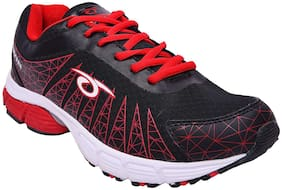 Mens Sports shoe TPH-P-202_Black and Red colour