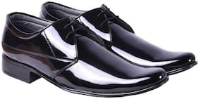 Menter Men Synthetic leather Black ultra shine formal shoes(black ultra shine formal shoes-1_6)