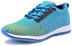Menter Men Walking Shoes ( Blue )