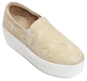 Meriggiare Women Beige Sneakers