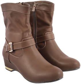 METRO Women Khaki Boot