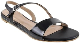 METRO Women Black Sandals