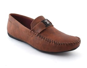 MGZ Men Brown Loafer - Loafers