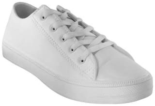 Mitras Men White Casual Shoes