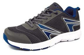 Mmojah Men's Dark Grey & Royal Blue & White Running Shoes