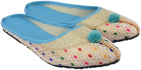 MOCHDI Women Multi-Color Mules