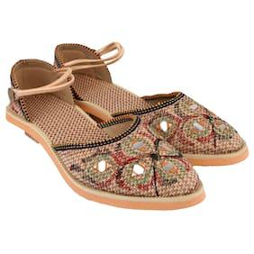 dd903c822636 Mochdi - Rajasthani Jaipuri work Partywear Ethnic women girls ladies Juti