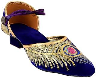 MOCHDI Women Multi-Color Sandals