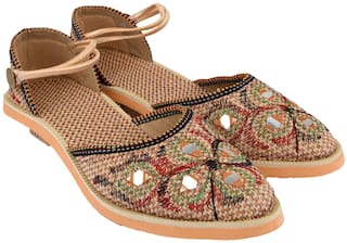 MOCHDI Women Multi-Color Sandals