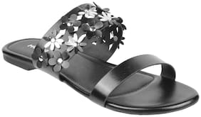 Mochi Synthetic Flats & Sandals For Women